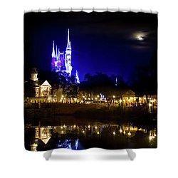 Moon Over Magic Shower Curtain