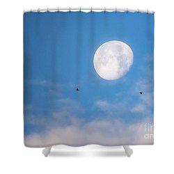 Moon Set Shower Curtain