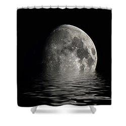 Moon Set... Shower Curtain