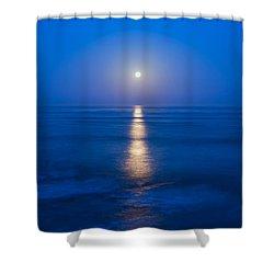 Moon Shine Shower Curtain