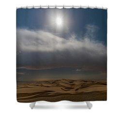 Moon Sparkle Shower Curtain