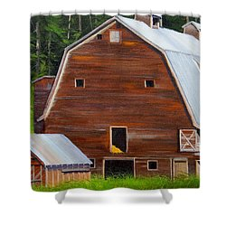 Mooney's Barn Shower Curtain