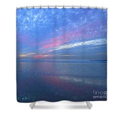 Moonlight Beach Shower Curtain