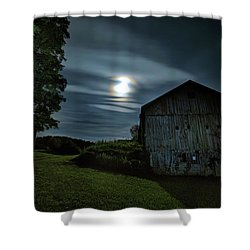 Moonlight Farm No. 2 Shower Curtain