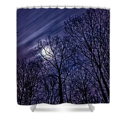 Moonlight Glow Shower Curtain
