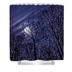 Moonlight Glow Shower Curtain