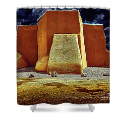 Moonlight In Ranchos Shower Curtain