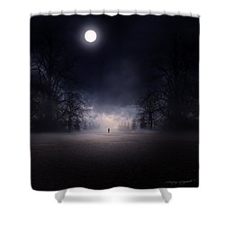 Moonlight Journey Shower Curtain