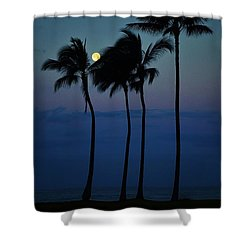 Moonlight Magic Shower Curtain by Craig Wood