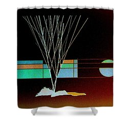 Moonlight Memories Shower Curtain