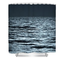 Moonlight On The Ocean Shower Curtain