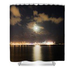 Moonlight Reflections Shower Curtain