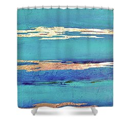 Moonlight Sea Shower Curtain by Filomena Booth