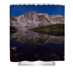 Moonlit Reflections  Shower Curtain