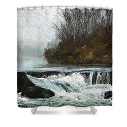 Moonlit Serenity Shower Curtain