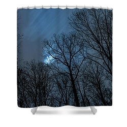 Moonlit Sky Shower Curtain