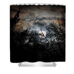 Moonlite Ride Shower Curtain
