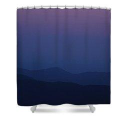 Moonrise - Mount Washington New Hampshire  Shower Curtain by Erin Paul Donovan