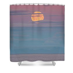 Moonrise Shower Curtain