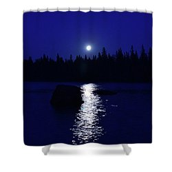 Moonrise On A Midsummer's Night Shower Curtain