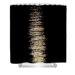 Moonrise Over Monroe Harbor Chicago 0158 Shower Curtain