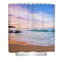 Bunker Bay Sunset, Margaret River Shower Curtain by Dave Catley