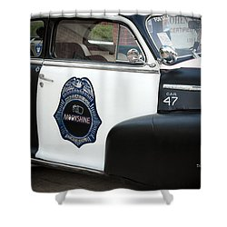 Moonshine Patrol Shower Curtain by DigiArt Diaries by Vicky B Fuller