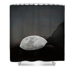 Moontoise Shower Curtain