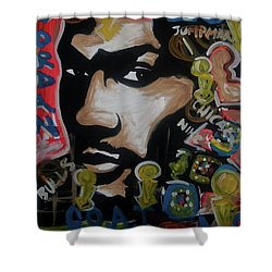Moore Rings Shower Curtain