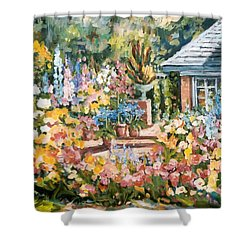 Moore's Garden Shower Curtain by Alexandra Maria Ethlyn Cheshire