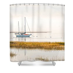 Mooring Line Shower Curtain