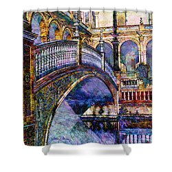Moorish Bridge Shower Curtain