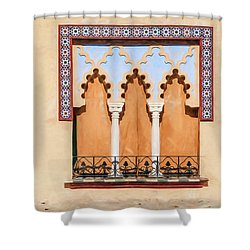 Moorish Window II Shower Curtain