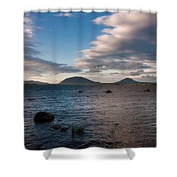 Moosehead Lake Spencer Bay Shower Curtain