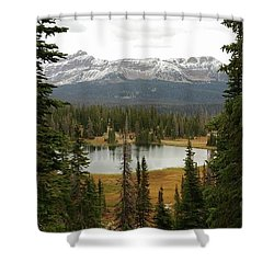 Moosehorn Lake Shower Curtain