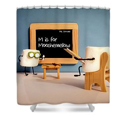 Shower Curtain featuring the photograph Mooshemellow by Heather Applegate