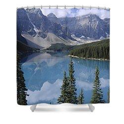 Moraine Lake Canada Shower Curtain
