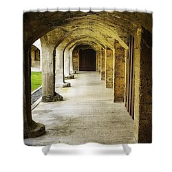 Moravian Pottery And Tile Works Shower Curtain