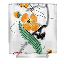 More Bitter Melon  Shower Curtain