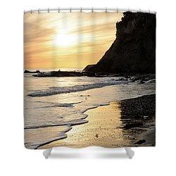 More Mesa Sunset West Shower Curtain