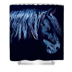 Morente Andalucian Shower Curtain
