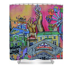Morgans Wonderland Shower Curtain