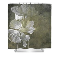 Moring Blooms Shower Curtain