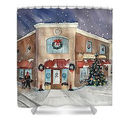 Morkes Christmas 2017 Shower Curtain