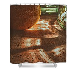 Morning Detail Shower Curtain by Steven Huszar