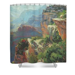 Morning At Hopi Point Shower Curtain