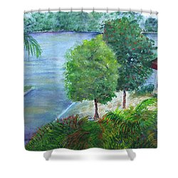 Morning At Longboat Key Shower Curtain