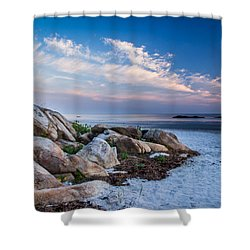 Morning At The Beach Shower Curtain