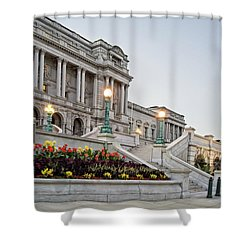 Morning At The Library Of Congress Shower Curtain