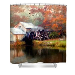 Morning At The Mill Shower Curtain by Darren Fisher